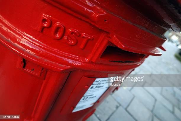 Traditional English mailbox