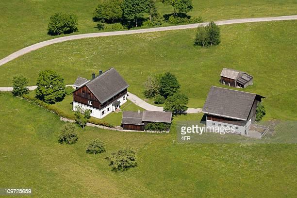 Traditionelle Farm, Salzkammergut, österreichischen Alpen