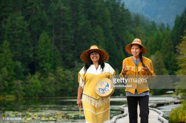 traditional first nations culture - first nations stock pictures, royalty-free photos & images