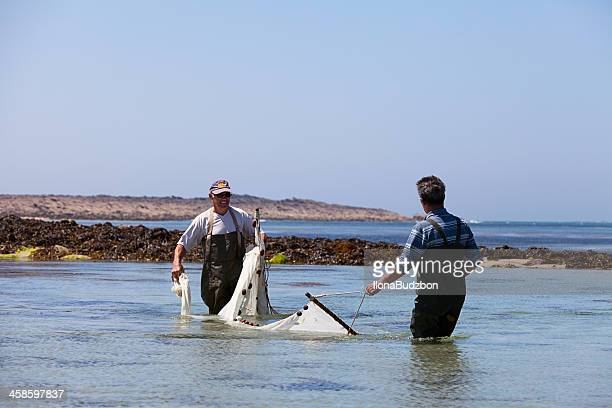 Traditional fishing in Bretagne, France