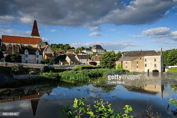 Traditional French village in Touraine