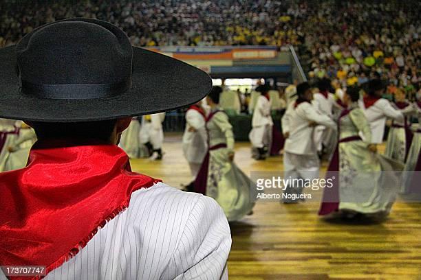 Traditional Gaucho Dance Rio Grande do Sul - Brazil