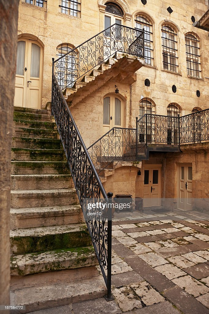 Traditional Gaziantep houses : Stock Photo