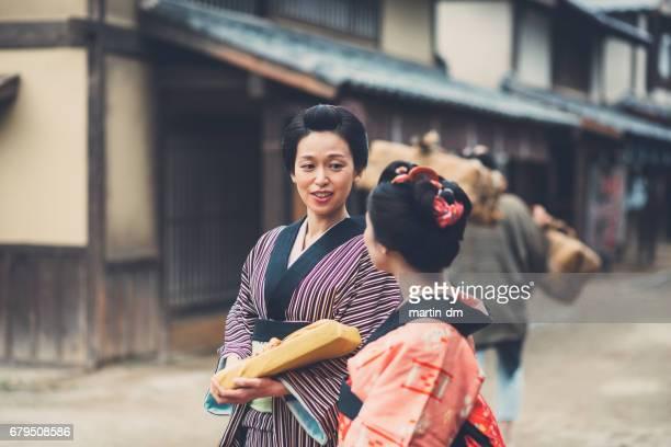 Traditioneller Geishas in Japan