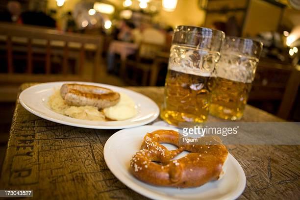 Traditionelle deutsche Speisen