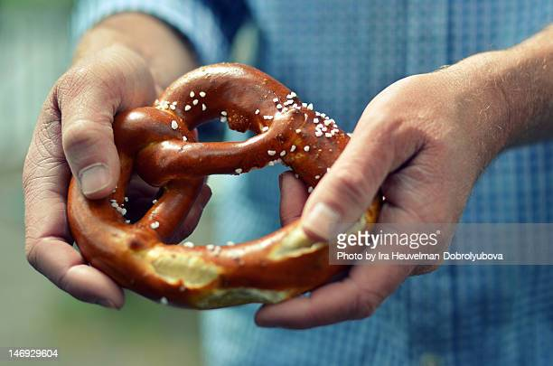 Traditional German Pretzel