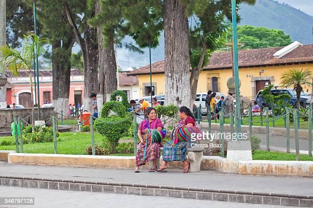 Traditional Guatemalan Women