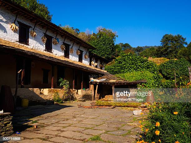 Traditional Gurung house, Ghandruk village, Nepal