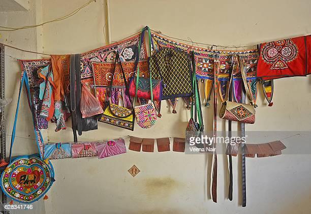 Traditional. handmade ,embroidered bags-Bhuj-Kutch-Gujarat