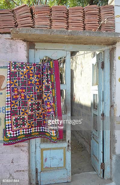 Traditional handmade,embroidered shawls/clothes-Bhuj-Kutch-Gujarat