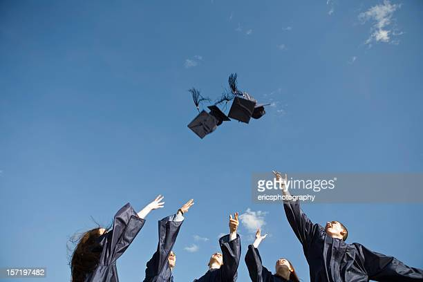 Traditional hat toss