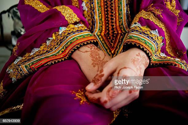 Traditional Henna.
