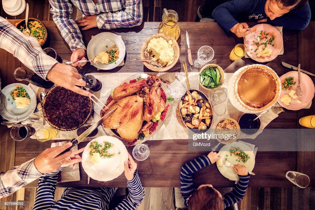Traditionellen Holiday Gefüllter Truthahn : Stock-Foto
