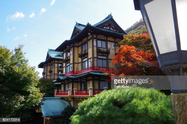 traditional hotel in japan - 宿屋 ストックフォトと画像