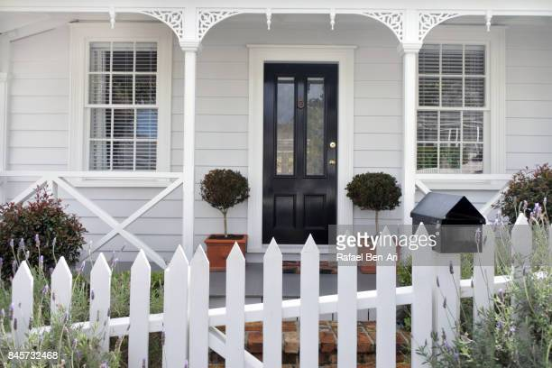 traditional villa style house ponsonby auckland