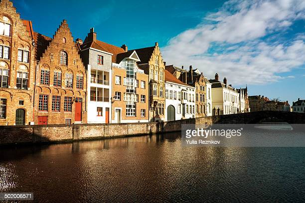Traditional houses in Bruges
