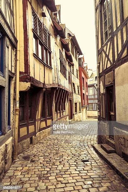 Traditional houses in Rouen