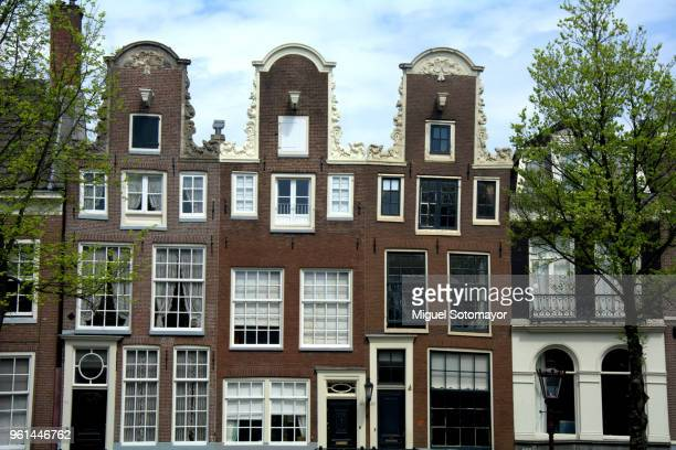 Traditional houses of Amsterdam