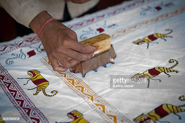 Traditional Indian blockprinting, Rajasthan