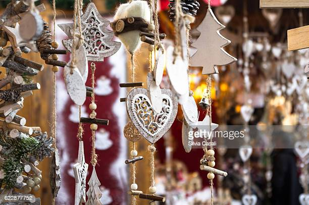 Traditional Italian South Tyrol Christmas Markets Decorations