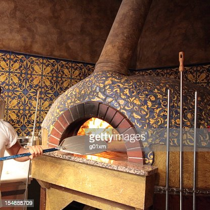 wood burning pizza oven traditional italian wood burning pizza oven stock photo 29006