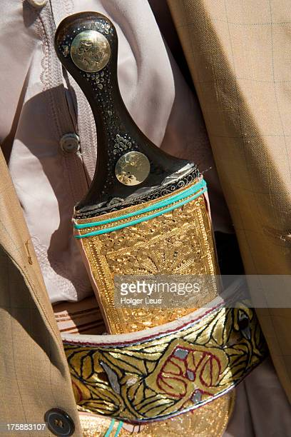 traditional jambia dagger - belt stock pictures, royalty-free photos & images