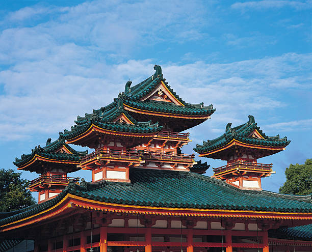 Traditional Japanese architecture, Heian Shrine