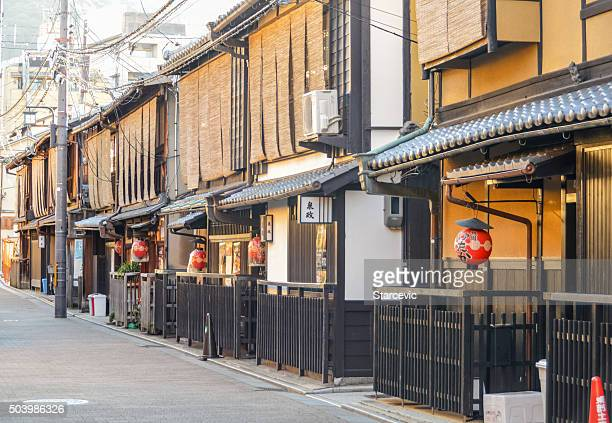 伝統的な日本建築の祇園-Kyoto ,Japan