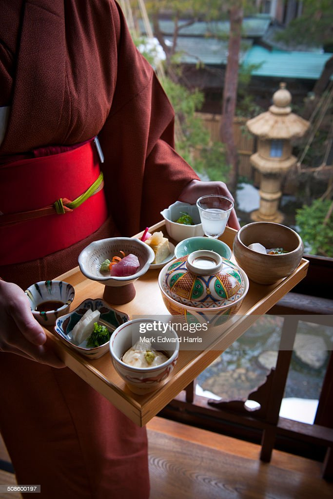 Traditional Japanese cuisine : Stock Photo