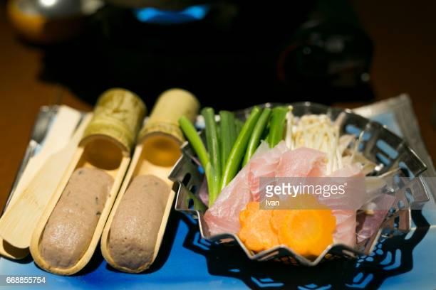 Traditional Japanese Food, Kaiseki, Japanese Hot Pot, ShabuShabu