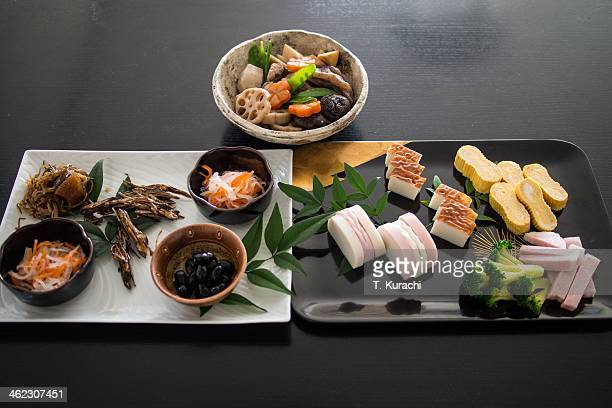 Traditional Japanese New Year foods