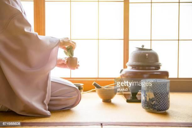 Traditional Japanese Tea Ceremony,Sado