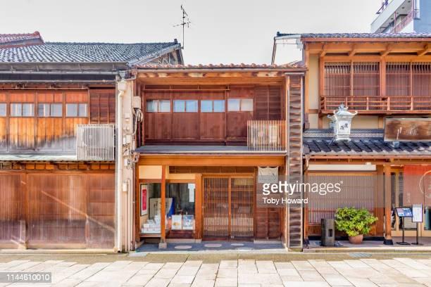 traditional japanese teahouses - ティールーム ストックフォトと画像