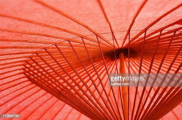 Traditional Japanese Umbrella at Nikko, Japan