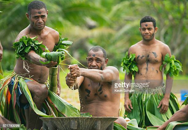 Traditional Kava ceremony, Taveuni Island, Fiji