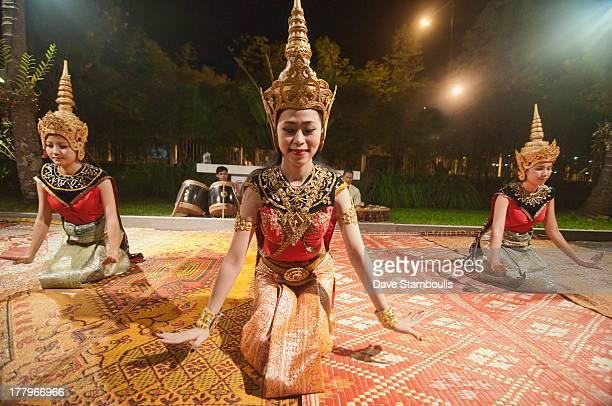 Traditional Lao Khon dancers, Luang Prabang, Laos