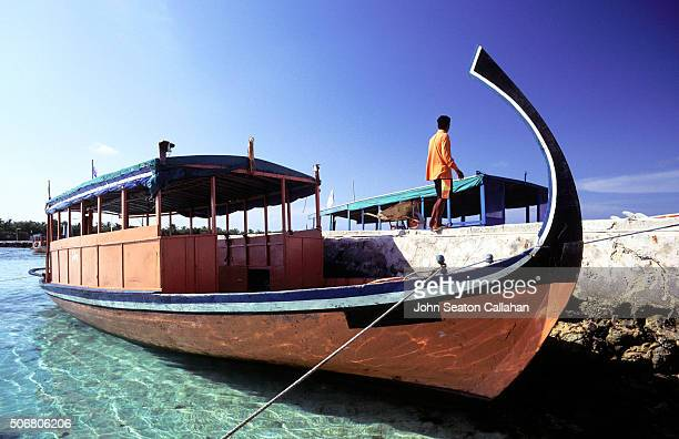 Traditional Maldivian dhoni