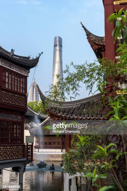 Traditional meets modern Shanghai
