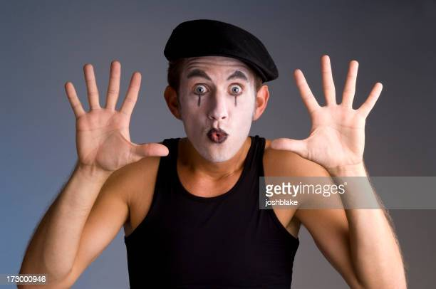 Traditionnelle mime