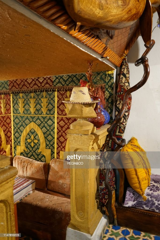 Traditional Moroccan Restaurant The Kasbah Chefchaouen The Blue News Photo Getty Images