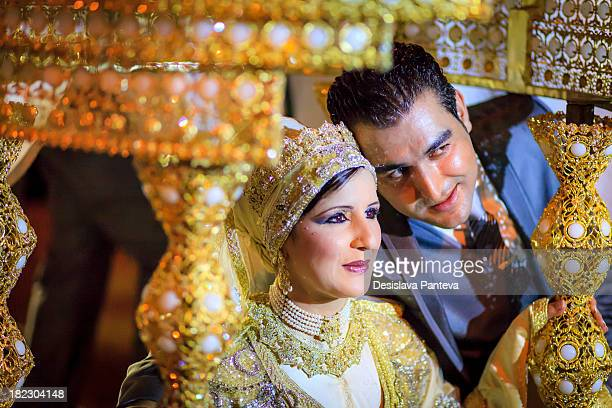 CONTENT] Traditional moroccan wedding the marriage celebration includes several well organized ceremonies The bride and the groom sitting on a...