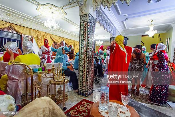 CONTENT] Traditional moroccan weddingthe marriage celebration includes several well organized ceremonies On the day of the wedding the ceremony...