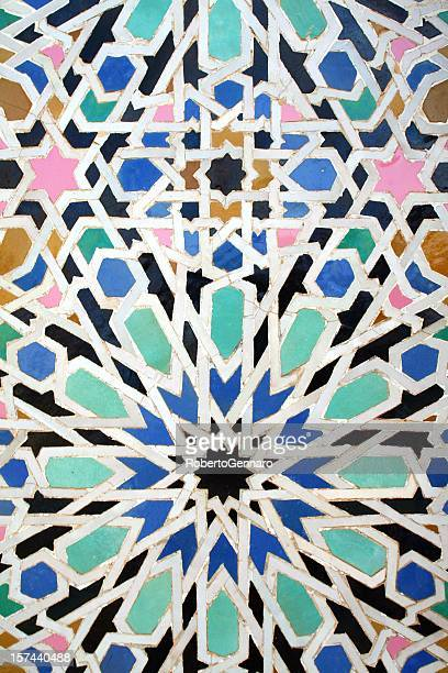 Traditional mosaic of Morocco