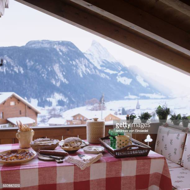 Traditional mountain chalet in Gstaad