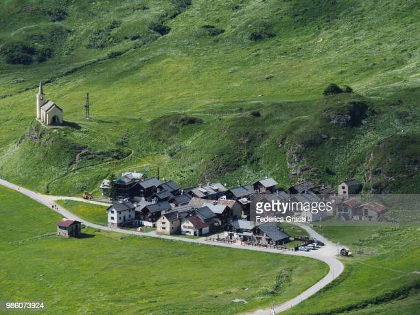 Traditional Mountain Village of Riale, Formazza Valley