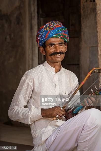 伝統音楽家からインド・ラージャスターン州)