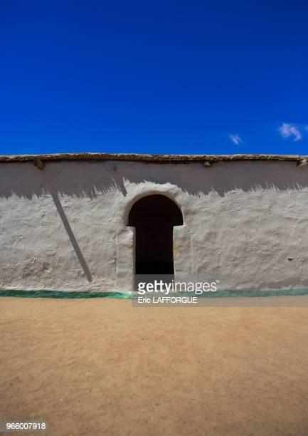 Traditional nubian architecture gunfal Sudan on March 19 2013 in Gunfal Sudan