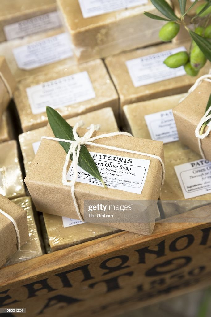 Olive Oil Soap in Corfu Town, Greece Pictures | Getty Images