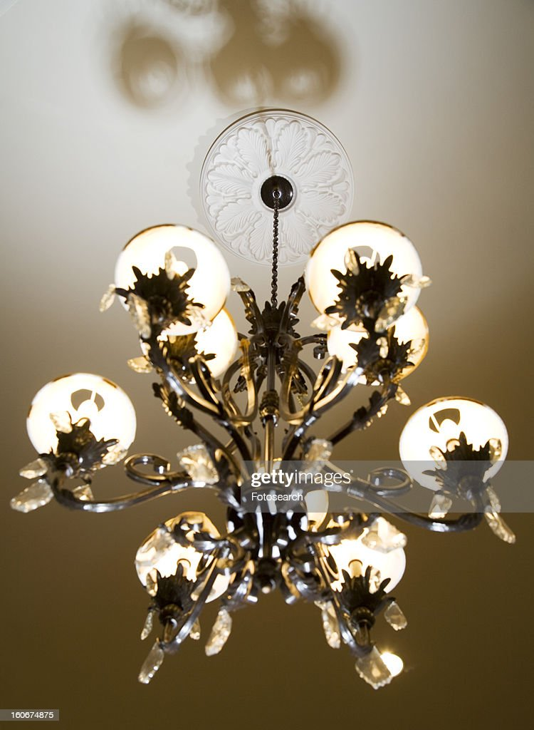 Traditional ornate chandelier stock photo getty images traditional ornate chandelier stock photo aloadofball Choice Image