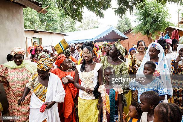 traditional party - senegal stock pictures, royalty-free photos & images